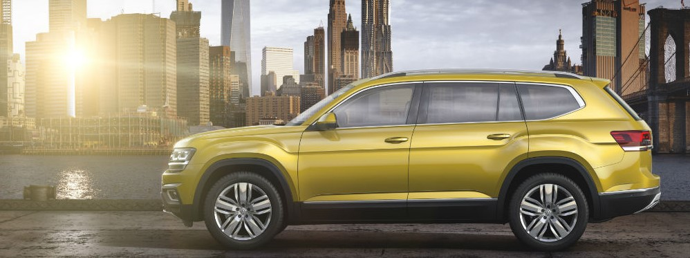 2018 Volkswagen Three Row SUV Review 2019 Volkswagen Three Row SUV Release Date, Price, Redesign, & Spy Shots