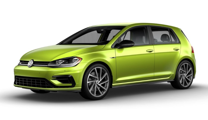 2019 VOLKSWAGEN GOLF R AVAILABLE IN 40 CUSTOM COLORS REVIEW