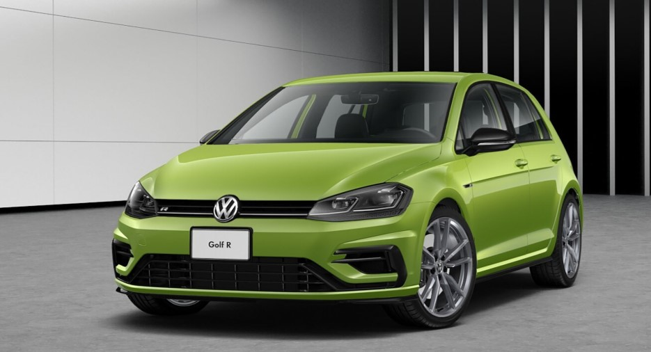 2019 VOLKSWAGEN GOLF R AVAILABLE IN 40 CUSTOM COLORS SPECS