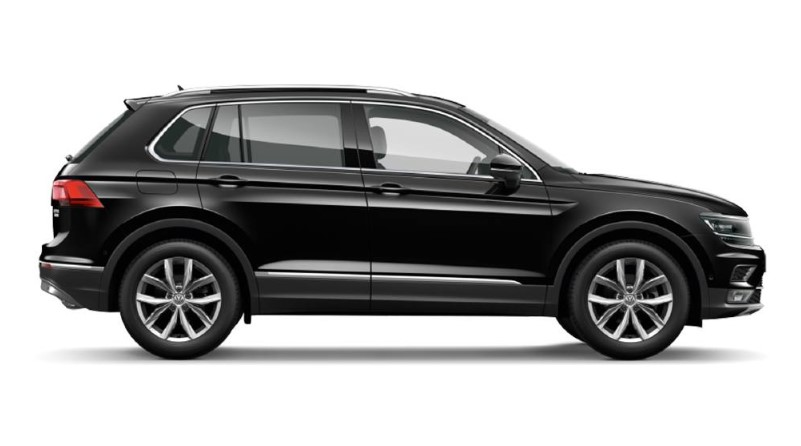 Volkswagen Tiguan Black 2019 Volkswagen Tiguan Black Style R Line Design Package Release Date, Price, Spy Shots, & Redesign
