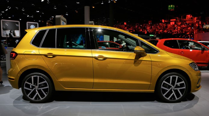 2019 Volkswagen Golf Sportsvan 1 2019 Volkswagen Golf Sportsvan Spy Shots, Redesign, Release Date, & Price