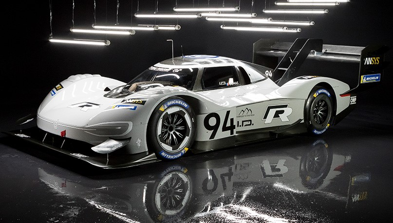 VW I.D. R Is 680 HP EV LMP1 Car for Pikes Peak