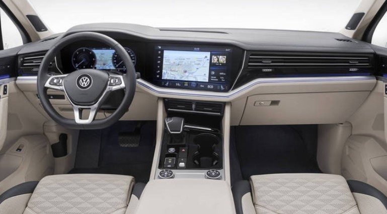 VW Touareg in America Interior 2020 VW Touareg in America Review, Specs, Engine, & Changes