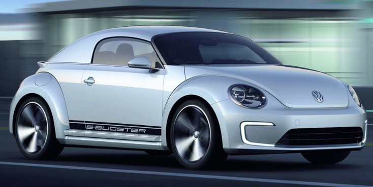 Volkswagen Beetle Four-Door Electric Hatchback