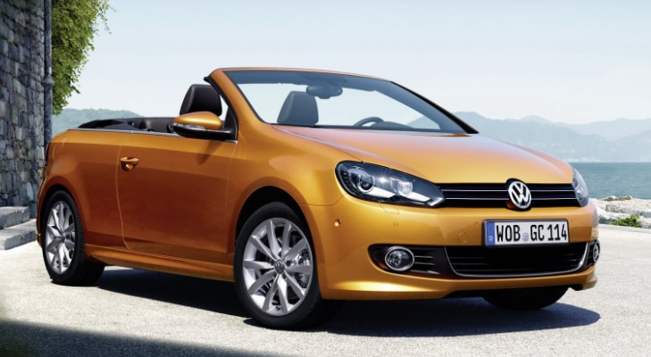 Volkswagen Golf Cabrio Allegedly U.S.
