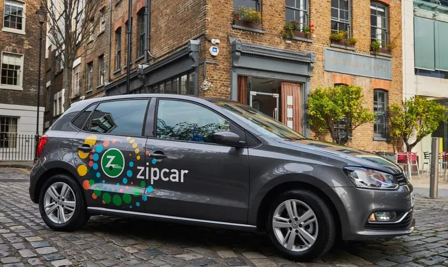 Volkswagen e-Golf Zipcar in London