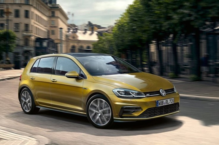 VOLKSWAGEN GOLF EIGHTH-GEN SPECS
