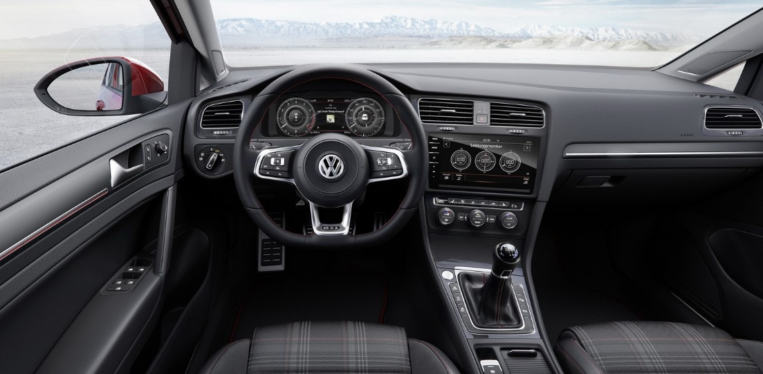 VW Golf GTI 245 HP Interior 2021 VW Golf GTI 245 HP in Base Type Review, Specs, Engine, & Redesign