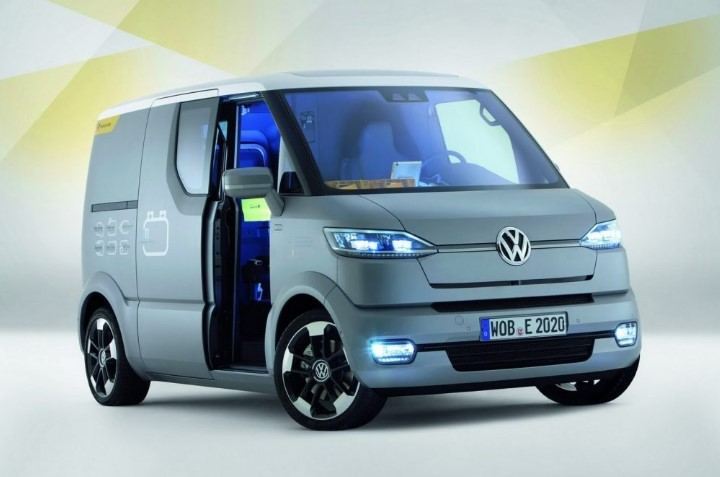 2020 VW Transporter Facelift