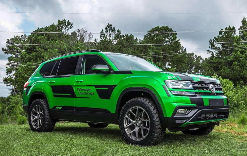 VW Atlas 350-HP Performance SUV Review