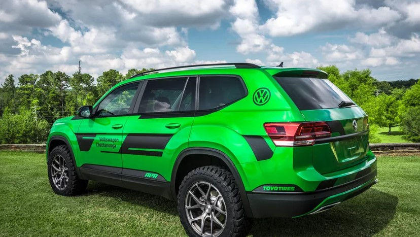 VW Atlas 350-HP Performance SUV
