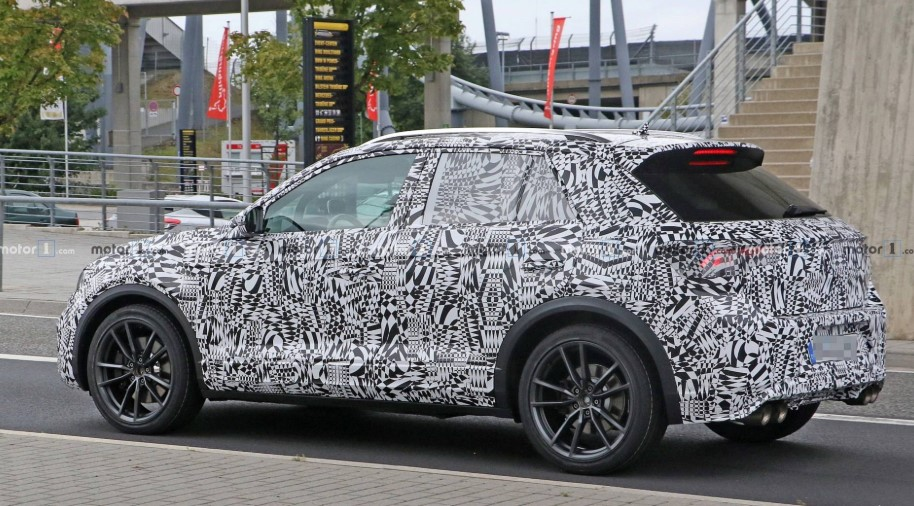 VW T-Roc R In Full Attack At The Nurburgring Specs