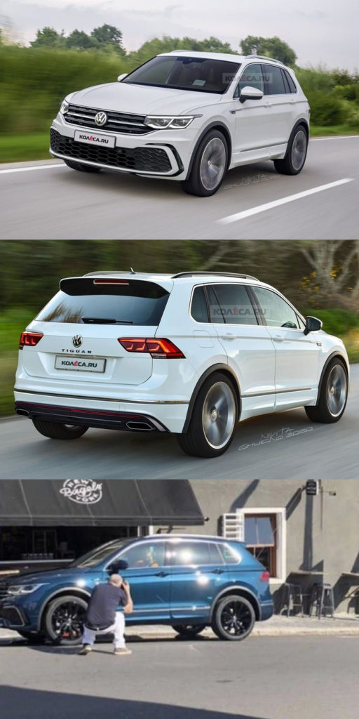 This Is Our Best Look Yet At The 2021 VW Tiguan. We're ...
