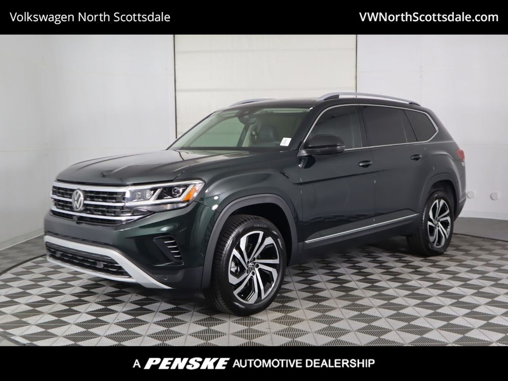 New 2021 Volkswagen Atlas 2.0T SEL Premium 4MOTION SUV in ...