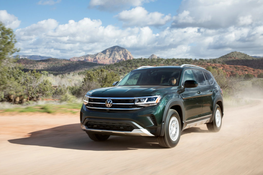 2021 Volkswagen Atlas Colors: New Green, Red, Silver Options ...