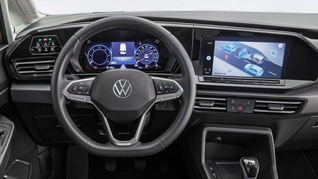 New VW Caddy 2021 - INTERIOR