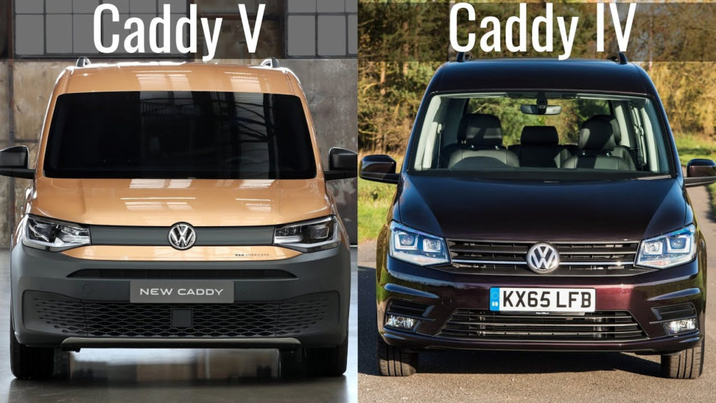2021 VW Caddy V vs Volkswagen Caddy IV || New vs Old