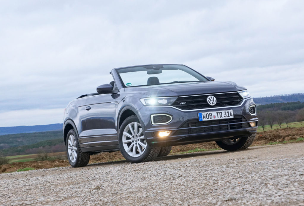 2021 VW T-Roc Cabriolet Is Another Try at the Convertible SUV