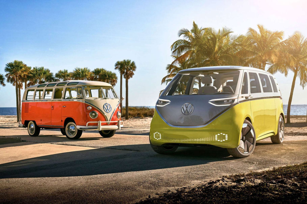 The New VW Bus is Back! And it's Electric