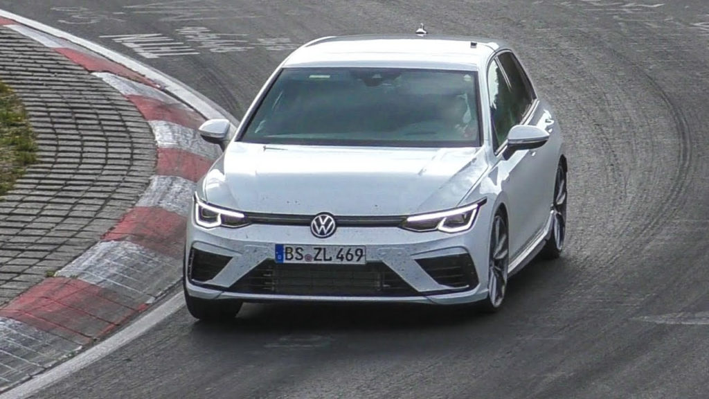 2021 Volkswagen Golf 8 R Spied Testing With Manual Gearbox ...