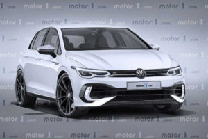 2021 VW Golf R Exclusive Rendering Previews The Performance ...