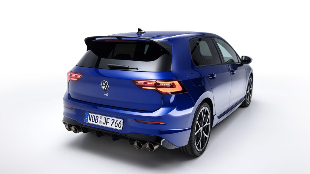 315-horsepower 2022 Volkswagen Golf R brings more tech, more ...