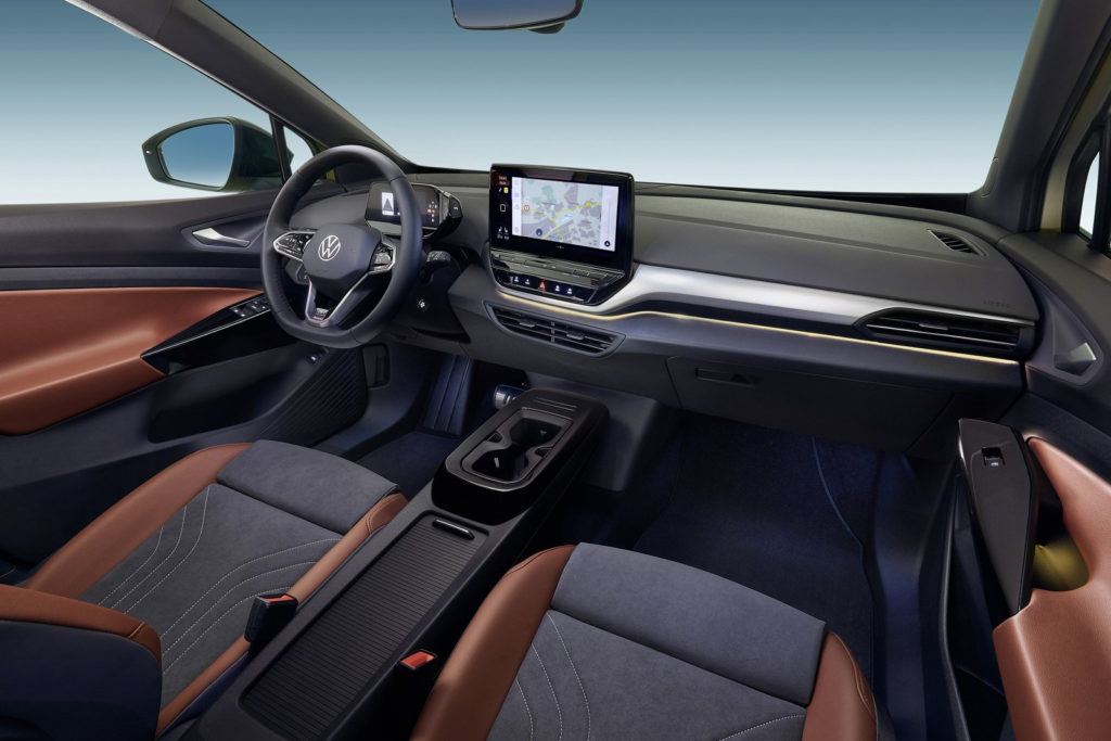 2021 Volkswagen ID.4 Fully Electric Crossover Debuts - Motor ...