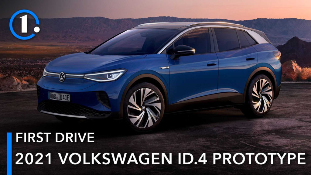 2021 Volkswagen ID.4 Prototype First Drive Review: Just ...