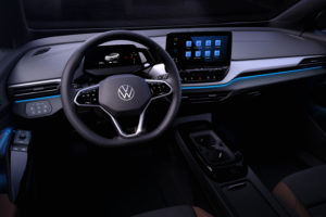 2021 Volkswagen ID.4 EV Interior Revealed, Looking Uncluttered