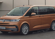 2021 Volkswagen T7 Transporter Reveals Styling in Accurate ...