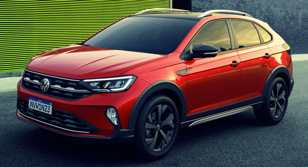 2021 VW Nivus Debuts In South America As Brand's Smallest ...