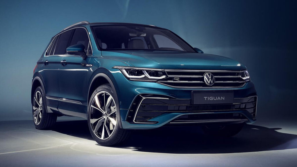 2022 VW Tiguan refines a successful formula - Roadshow