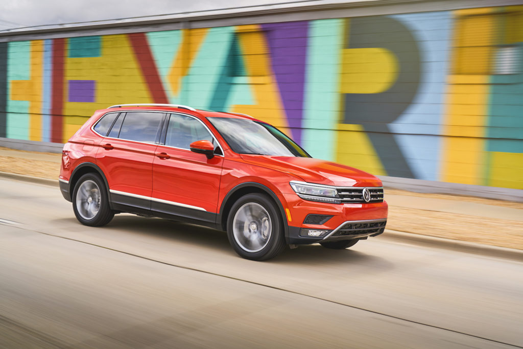 2021 Volkswagen Tiguan Seating Capacity 7 Specification ...