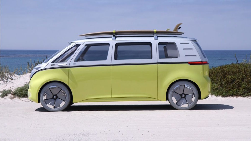 Volkswagen's electric concept bus is far out