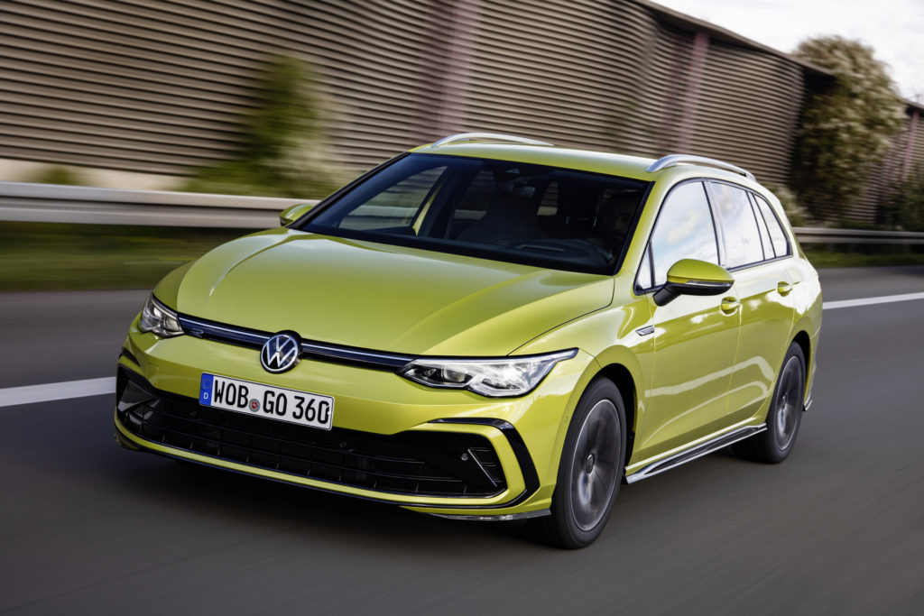 2021 Volkswagen Golf Wagon Launched in the UK, Alltrack Has ...