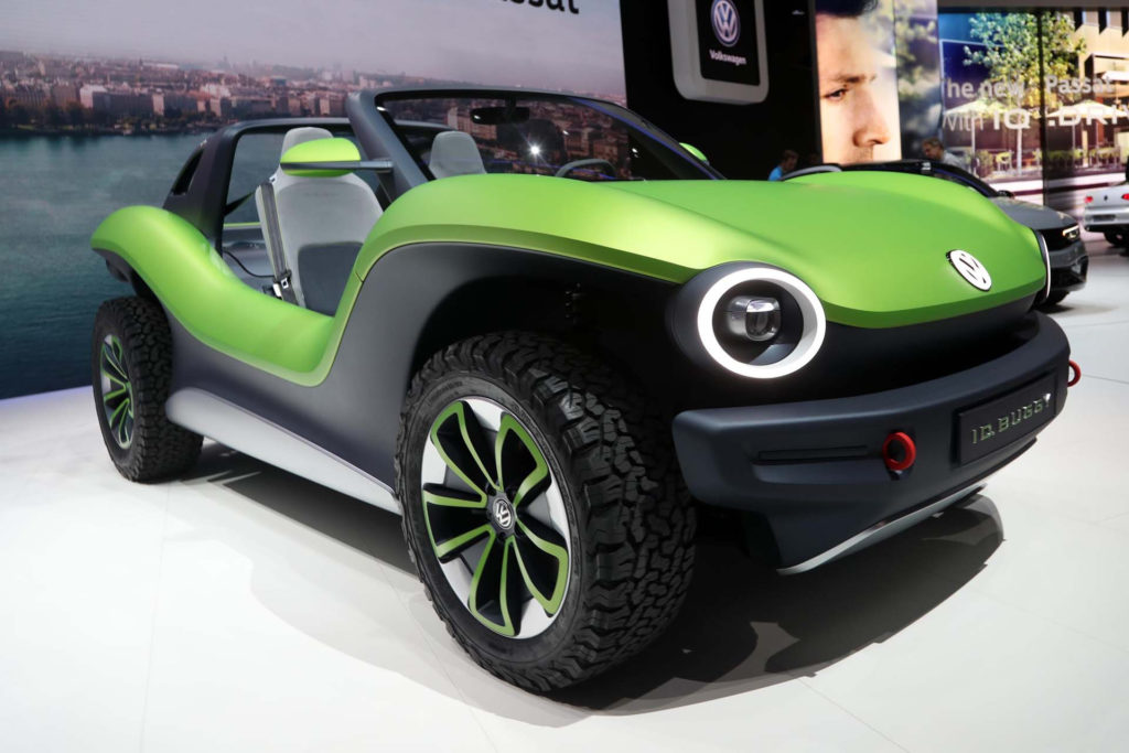 Volkswagen's beach buggy is back and this time it's electric