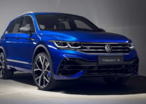2021 VW Tiguan R quicker than advertised even on damp road