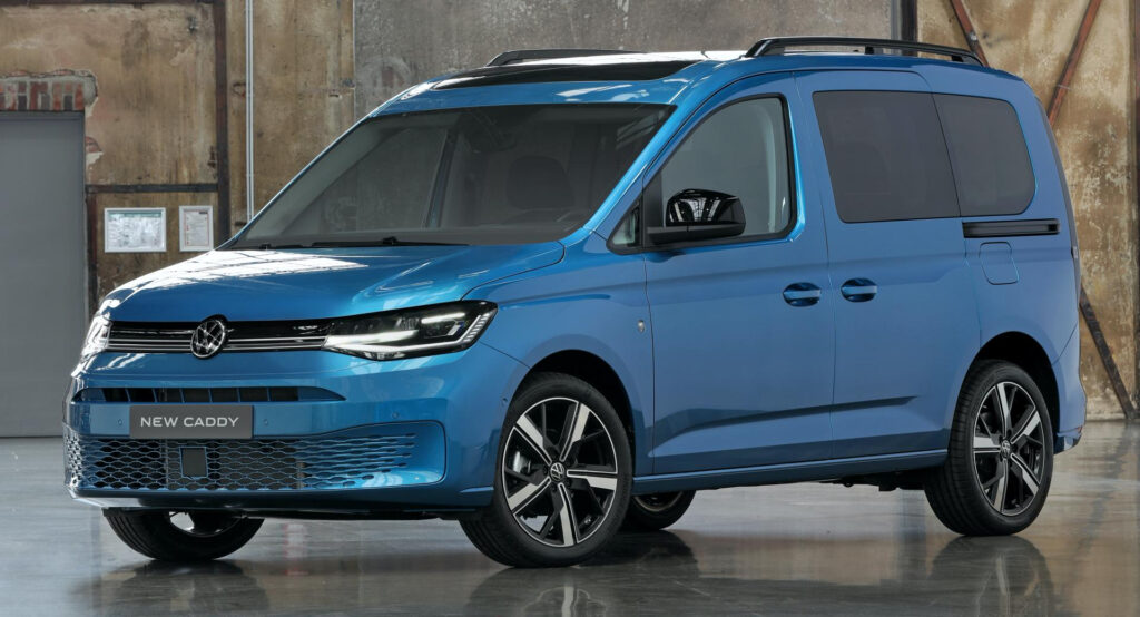 New 2021 VW Caddy Wraps MQB Underpinnings In Evolutionary