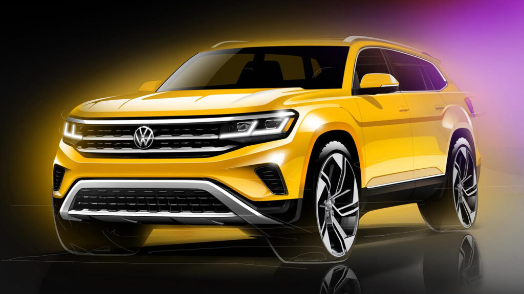 VW Offers First Look At Updated 2021 Atlas And Confirms