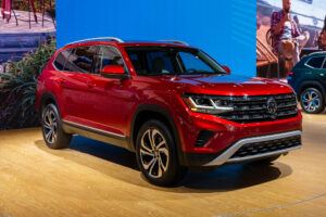 New look 2021 VW Atlas Borrows From Cross Sport Crossover