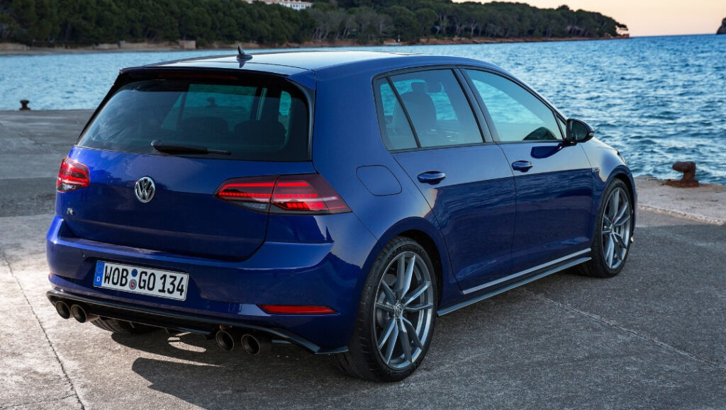 2021 VW Golf R Exterior Changes Color Options Redesign