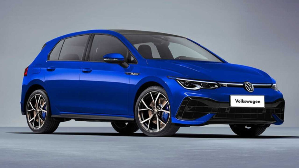 2021 VW Golf R Gets New Rendering To Ease The Wait Until