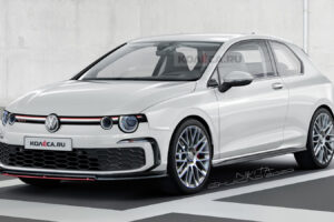 Vintage 2021 VW Golf GTI Looks Like A Dodge Challenger Hot