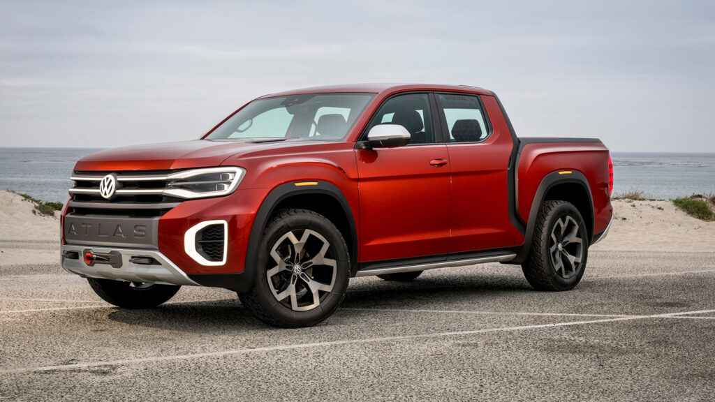 Volkswagen Is Seriously Considering A Pickup Truck For The