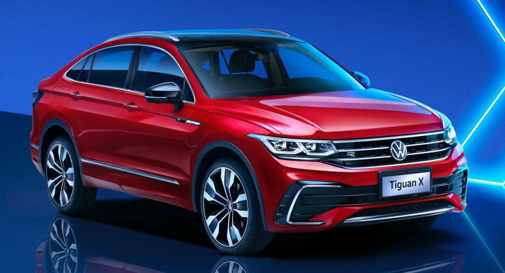 2021 VW Tiguan X Goes Official In China As The People s