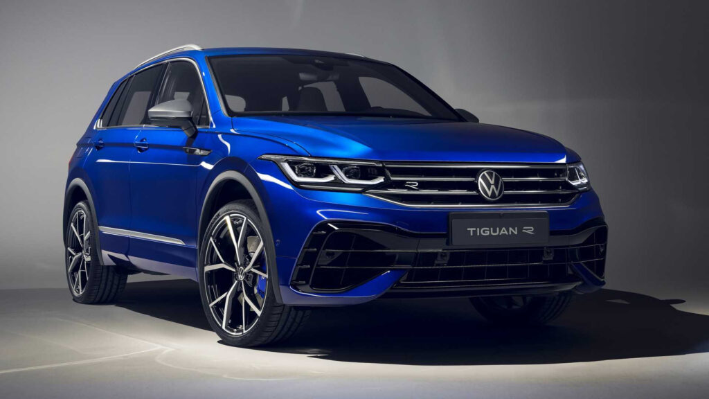 2021 VW Tiguan Videos Show Extended Lineup With EHybrid