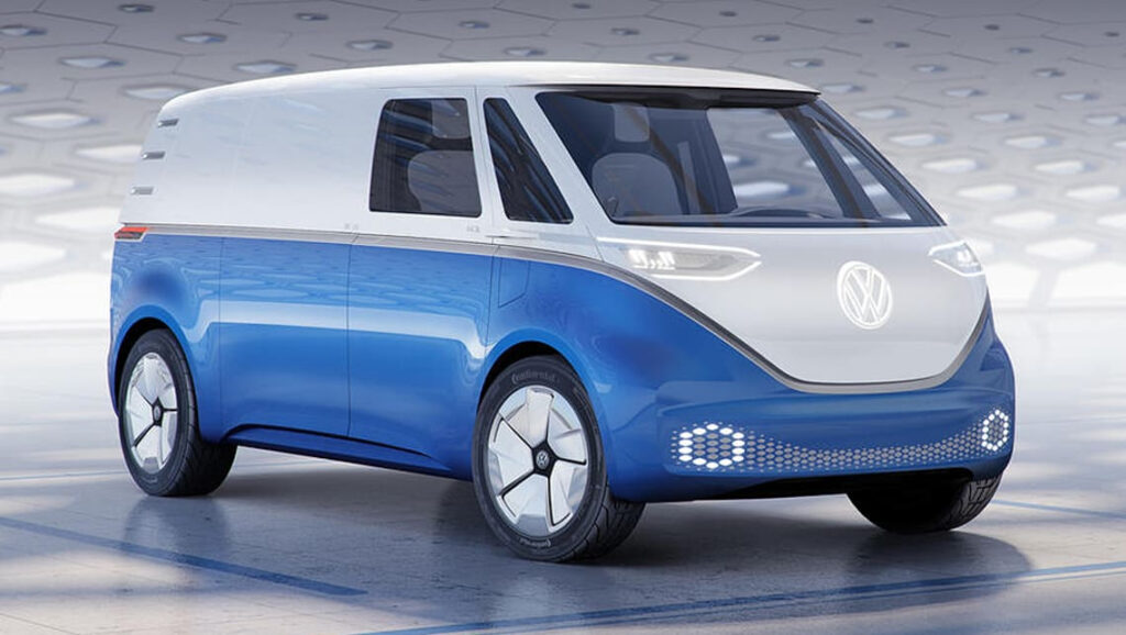 Volkswagen ID Buzz Cargo 2021 Revealed Car News CarsGuide