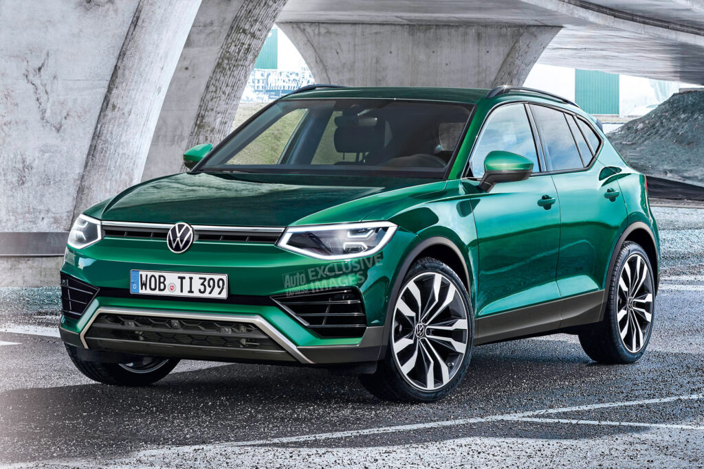 New 2022 Volkswagen Tiguan Set For Radical New Look Auto