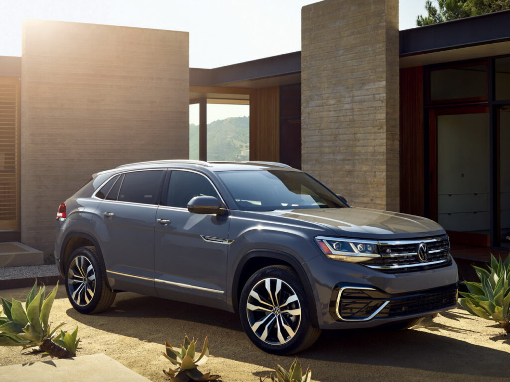 Exterior 2022 Volkswagen Atlas Cross Sport New Cars Design