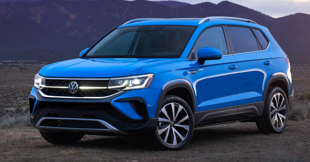 2022 Volkswagen Taos SUV Makes Its Debut In The US Slots